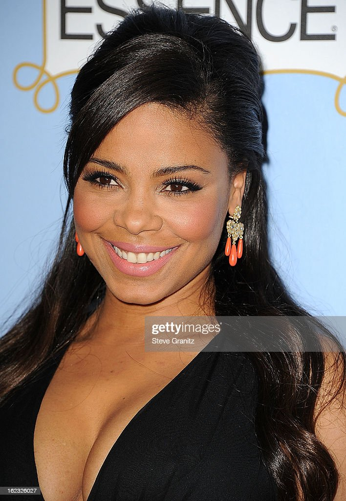 Sanaa Lathan arrives at the 6th Annual ESSENCE Black Women In Hollywood Luncheon at Beverly Hills Hotel on February 21, 2013 in Beverly Hills, California.