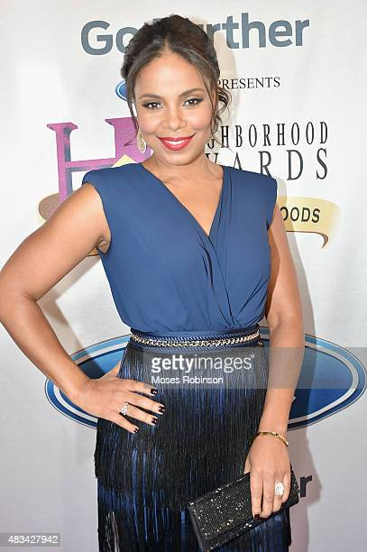 Sanaa Lathan attend the 2015 Ford Neighborhood Awards Hosted By Steve Harvey at Phillips Arena on August 8 2015 in Atlanta Georgia