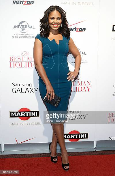 Sanaa Lathan attends 'The Best Man Holiday' screening at Chelsea Bow Tie Cinemas on November 11 2013 in New York City