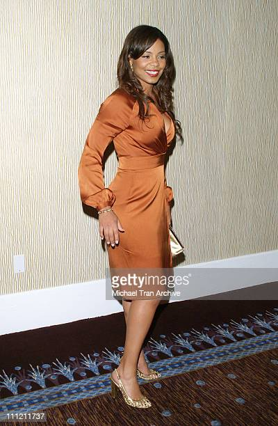 Sanaa Lathan during 22nd Annual Artios Awards Arrivals at Beverly Hilton Hotel in Beverly Hills CA United States