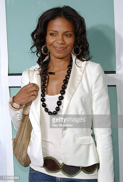 Sanaa Lathan during 'King's Ransom' Los Angeles Premiere Red Carpet at ArcLight Cinerama Dome in Los Angeles California United States