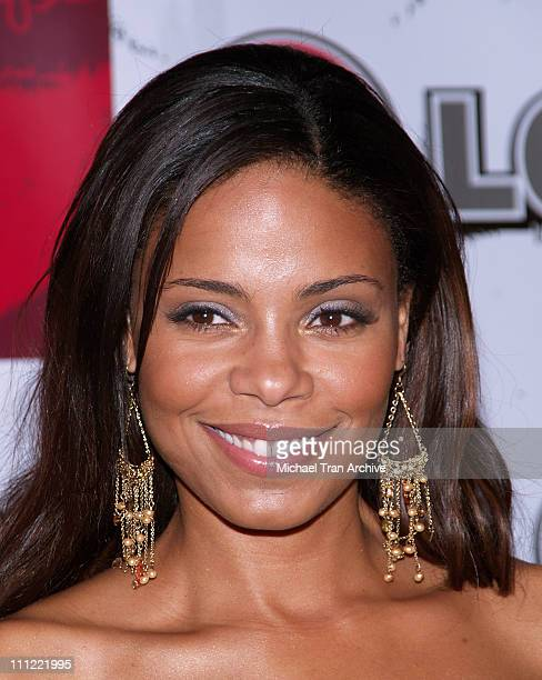 Sanaa Lathan during LG Jermaine Dupri Launch New Fusic Arrivals at Day After Nightclub in Hollywood California United States