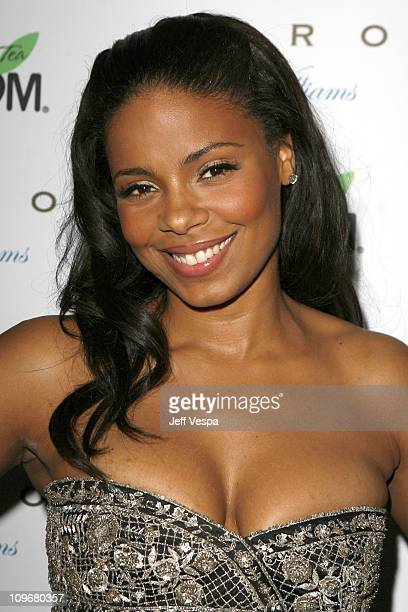 Sanaa Lathan during POM Tea Hosts Byron Williams Salon Opening at Byron Williams in Beverly Hills California United States
