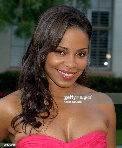 Sanaa Lathan during Season Four Premiere Screening Of 'Nip/Tuck' Arrivals at Paramount Studios in Hollywood California United States