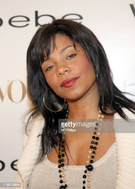 Sanaa Lathan during Vogue Hosts Beverly Hills Bebe Store Opening Arrivals at Bebe in Beverly Hills California United States Photo by M...