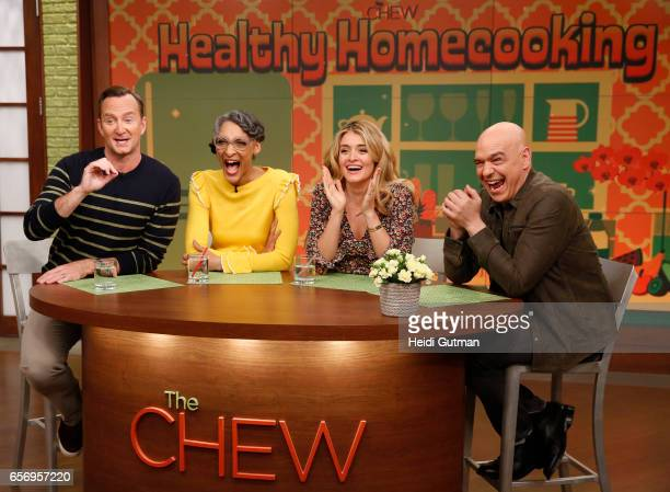 THE CHEW Sanaa Lathan is the guest Wednesday March 22 2017 on ABC's 'The Chew' 'The Chew' airs MONDAY FRIDAY on the ABC Television Network SYMON