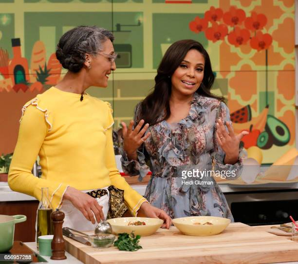 THE CHEW Sanaa Lathan is the guest Wednesday March 22 2017 on ABC's 'The Chew' 'The Chew' airs MONDAY FRIDAY on the ABC Television Network LATHAN