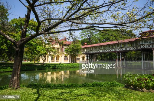 Sanam Chan Palace of Thailand, Nakhon pathom, : Stock Photo
