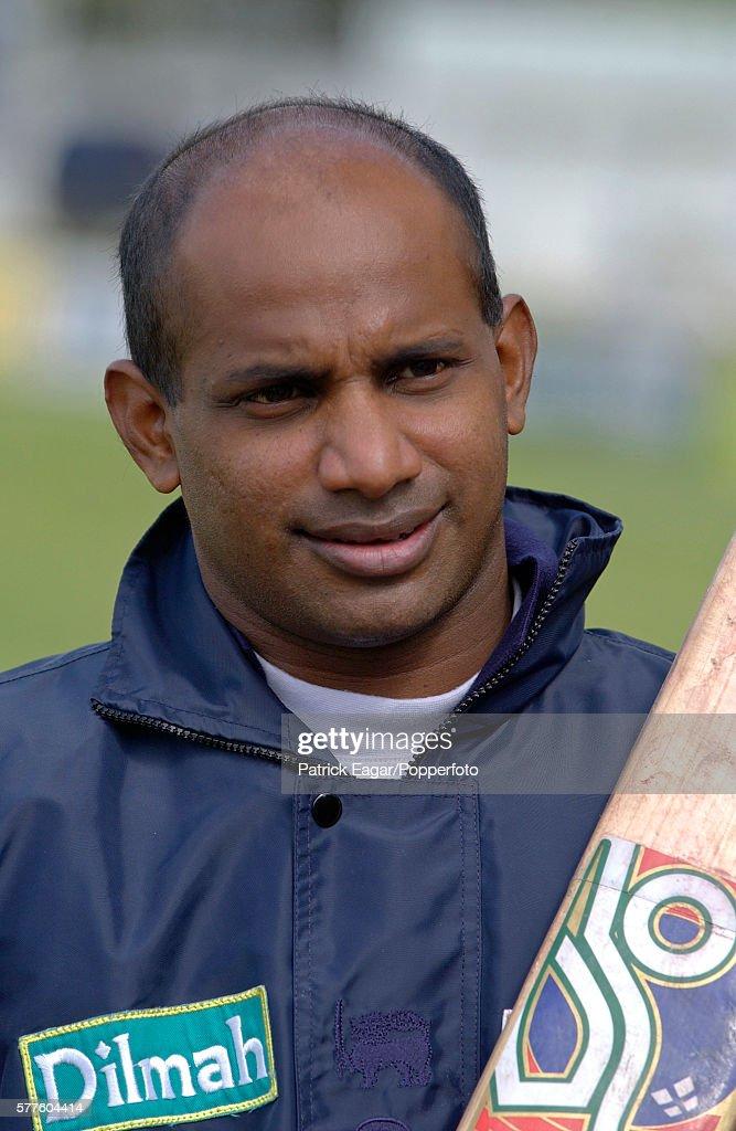 Sanath Jayasuriya of Sri Lanka during the tour match between British Universities and Sri Lankans at Northampton England 3rd May 2002