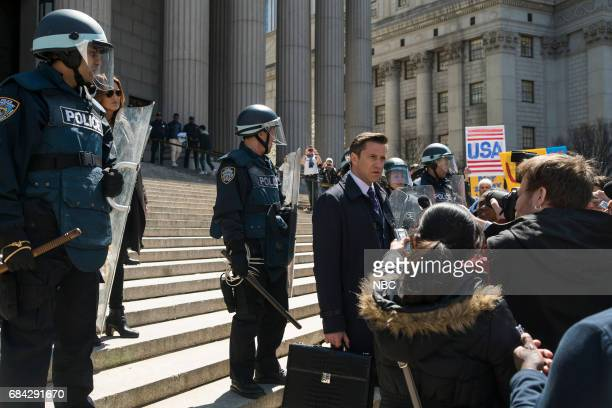 UNIT 'Sanctuary' Episode 1822 Pictured Mariska Hargitay as Lieutenant Olivia Benson Raul Esparza as ADA Rafael Barba