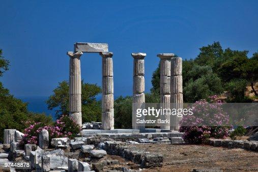 Sanctuary Of The Great Gods Samothraki Stock Photo  Getty ...