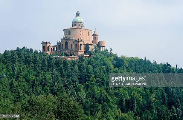 Sanctuary of the Madonna of San Luca 12th18th century designed by the architect Carlo Francesco Dotti Colle della Guardia Bologna EmiliaRomagna Italy