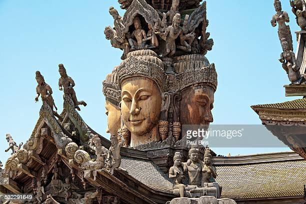 Sanctuary of Truth Pattaya Temple