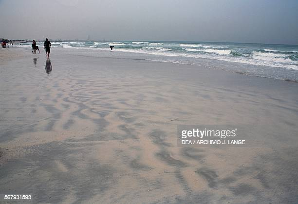 Sand beach Ajman United Arab Emirates
