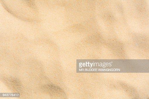 Sand beach backgrounds patterns : Stock Photo