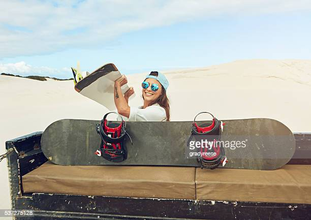 Sand boarding is more than a sport, it's a lifestyle