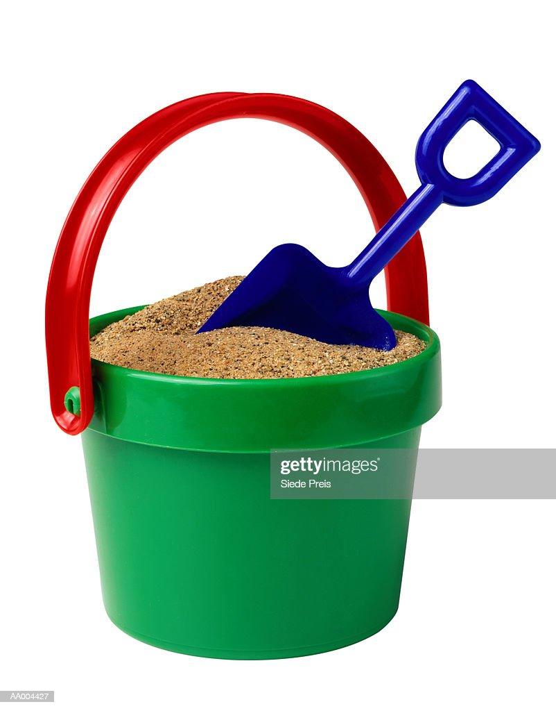 Sand Bucket Full of Sand