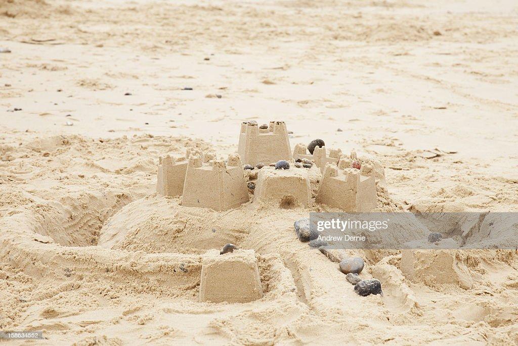 Sand Castles : Stock Photo