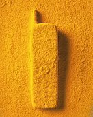 Sand Craft of Mobile Phone, High Angle View