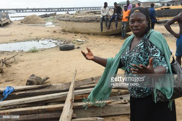 A sand dealer speaks about eviction notice served on residents of IlajeBariga waterfront settlement mostly inhabited by fishermen and sand dealers by...