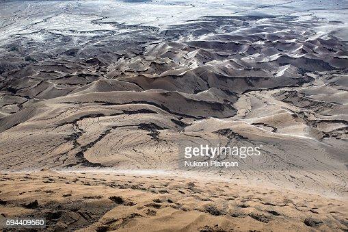 Sand dune at Mt. Bromo, Indonesia