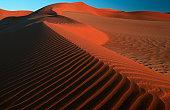 Sand dune, Namib Naukluft Park, Namib desert, Namibia