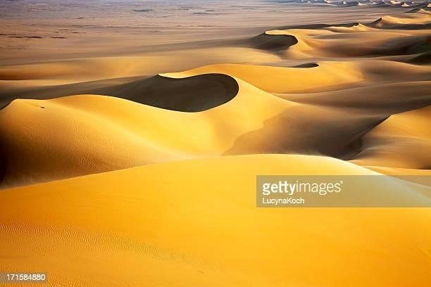 Sand dunes bei Sonnenaufgang