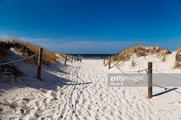 Sanddünen in Polen