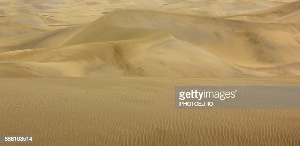 Sand dunes, landscape. : Stock Photo