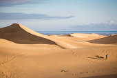 Sand dunes of Maspalomas, Gran Canaria, Spain