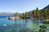 Lake Tahoe is a freshwater alpine lake located in the Sierra Nevada