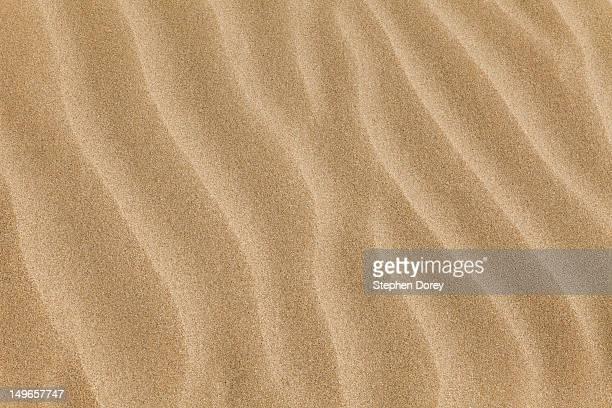 Sand pattern at Bantham, Devon