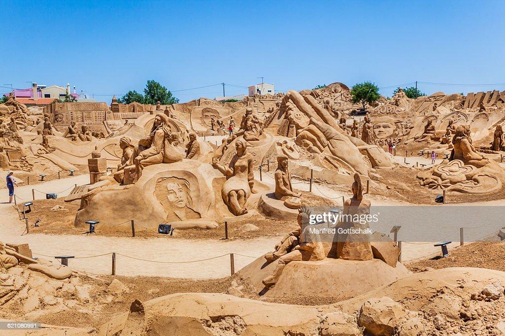 Sand Sculpture Festival in Portugal