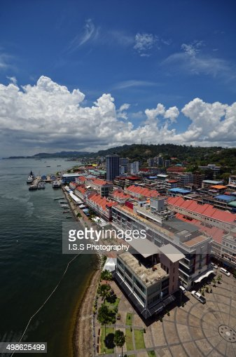 Sandakan - View of the CIty