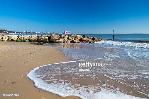 Sandbanks Beach Dorset : Stock Photo
