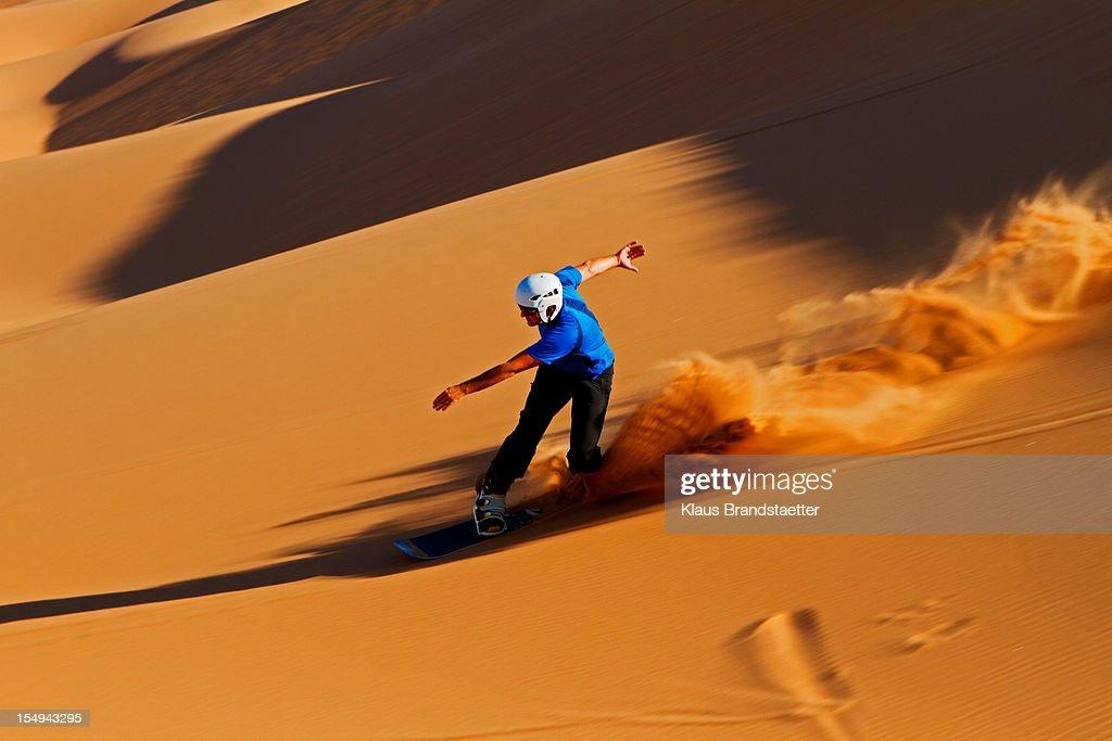 Sandboarding skakopmund