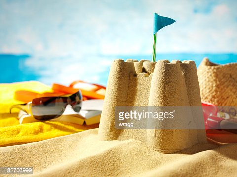 Sandcastle and Sunglasses