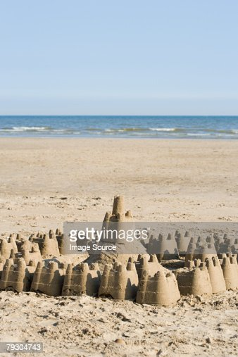 Sandcastle : Stock Photo