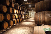 Sandeman Porto Wine producer, a wine cellar