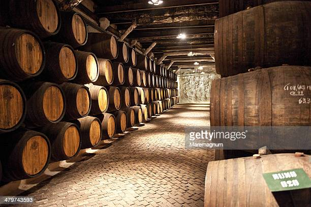 Sandeman Porto Wine producer, a wine cellar