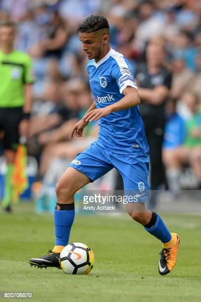 Sander Berge from KRC Genk during the PreSeason Friendly between KRC Genk and Everton at Cristal Arena on July 22 2017 in Genk Belgium