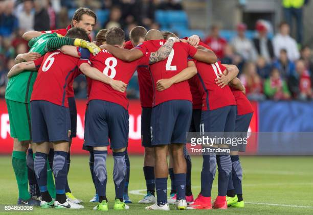 Sander Berge of Norway during the FIFA 2018 World Cup Qualifier between Czech Republic v Norway at Ullevaal Stadion on June 10 2017 in Oslo Norway