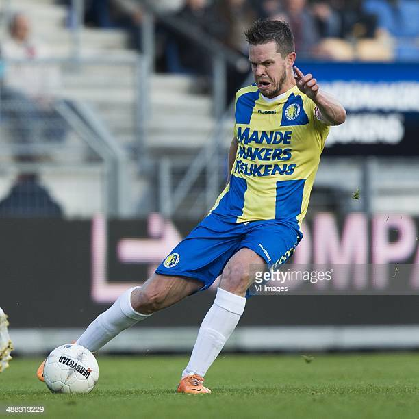 Sander Duits of RKC Waalwijk during the Dutch Eredivisie match between RKC Waalwijk and sc heerenveen at Mandemakers stadium on May 03 2014 in...