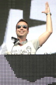 Sander Van Doorn performs during the Ultra Music Festival at Bayfront Park Amphitheater on March 30 2014 in Miami Florida