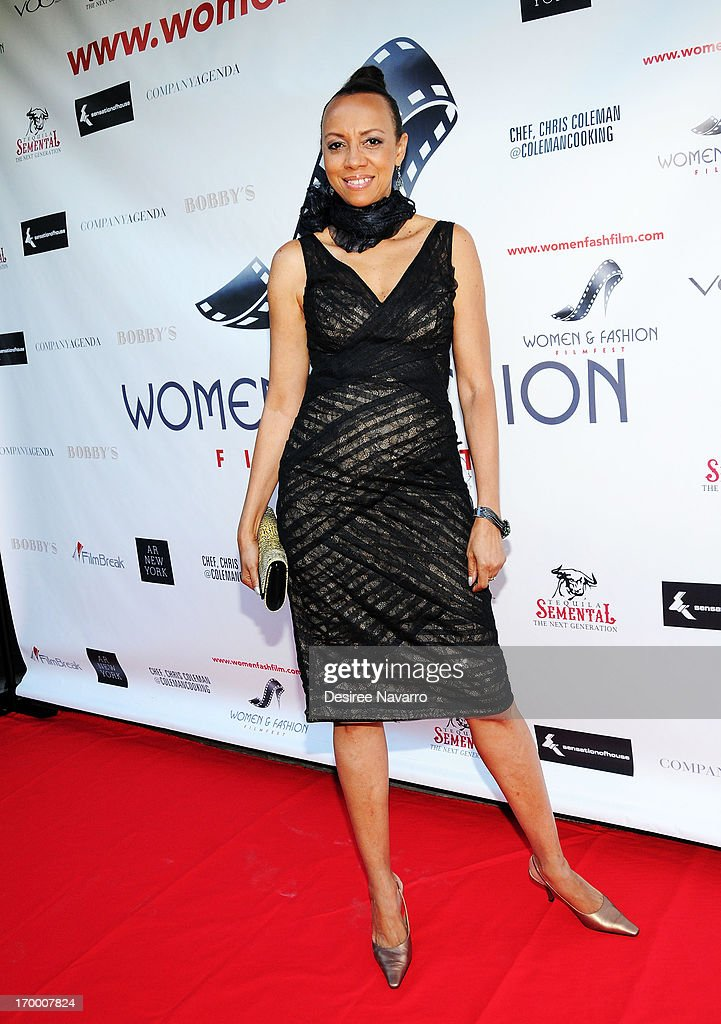 Sandi Bass attends the 2013 Women & Fashion FilmFest Launch Party at Bobby's Nightclub on June 5, 2013 in New York City.
