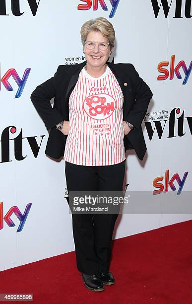Sandi Toksvig attends the Sky Women In Film and TV Awards at London Hilton on December 5 2014 in London England