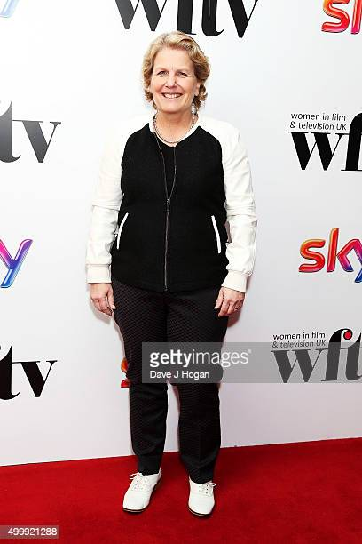 Sandi Toksvig attends the Sky Women in Film and TV Awards at London Hilton on December 4 2015 in London England