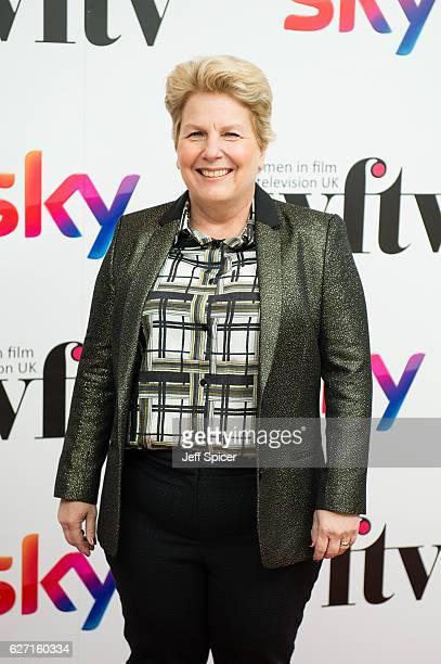 Sandi Toksvig attends the Sky Women In Film TV Awards at London Hilton on December 2 2016 in London England