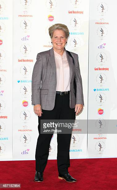 Sandi Toksvig attends the Women Of The Year lunch at InterContinental Park Lane Hotel on October 13 2014 in London England