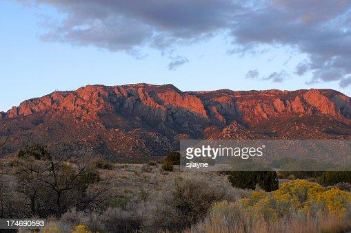 Sandia (Watermelon) Mountains